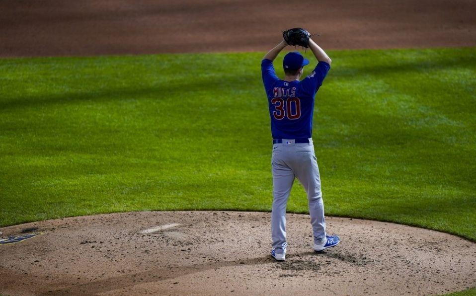 Mills consiguió el No-hitter 16 en la historia de los Cubs. (Foto: AP)