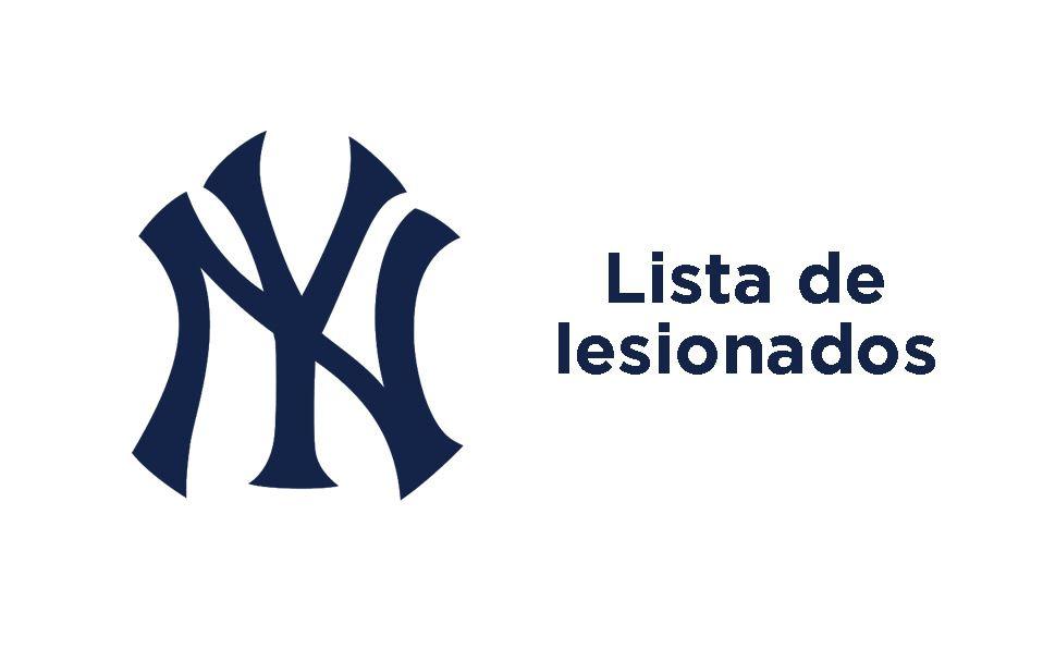 Lista de lesionados de los New York Yankees