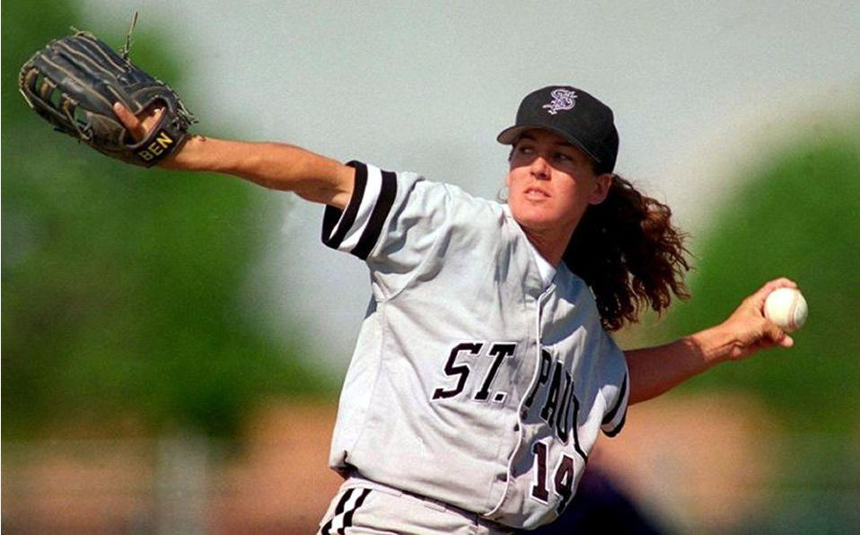 Borders durante su primera oportunidad en el beisbol profesional con St. Paul. (Foto: WBSC)