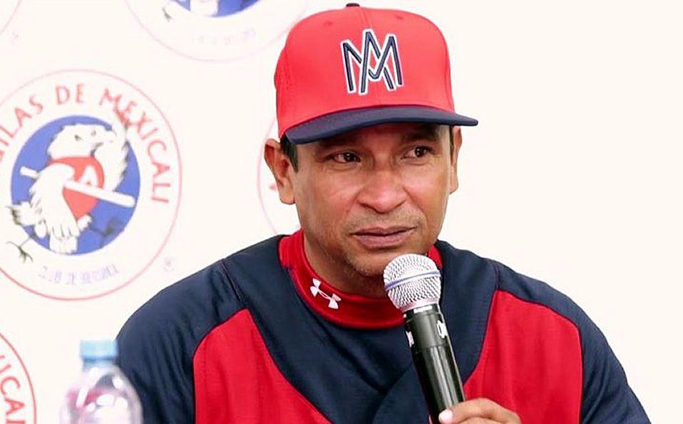 Águilas de Mexicali presenta a Pedro Meré como nuevo manager