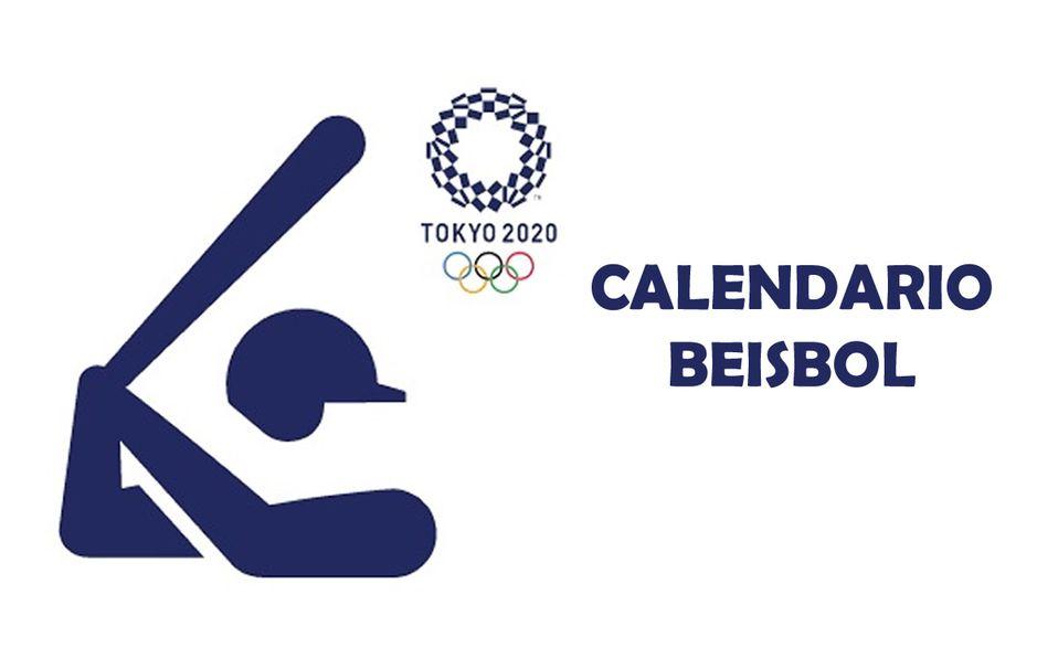 Calendario de juegos de beisbol en los Juegos Olímpicos de Tokyo 2021
