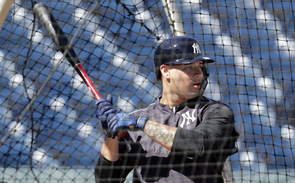 El dominicano Gary Sánchez: sano y listo para jugar con Yankees