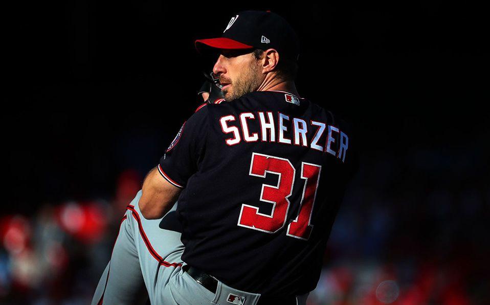 Max Scherzer lanzó su segunda salida de siete entradas en estos playoffs. (Foto: MLB)