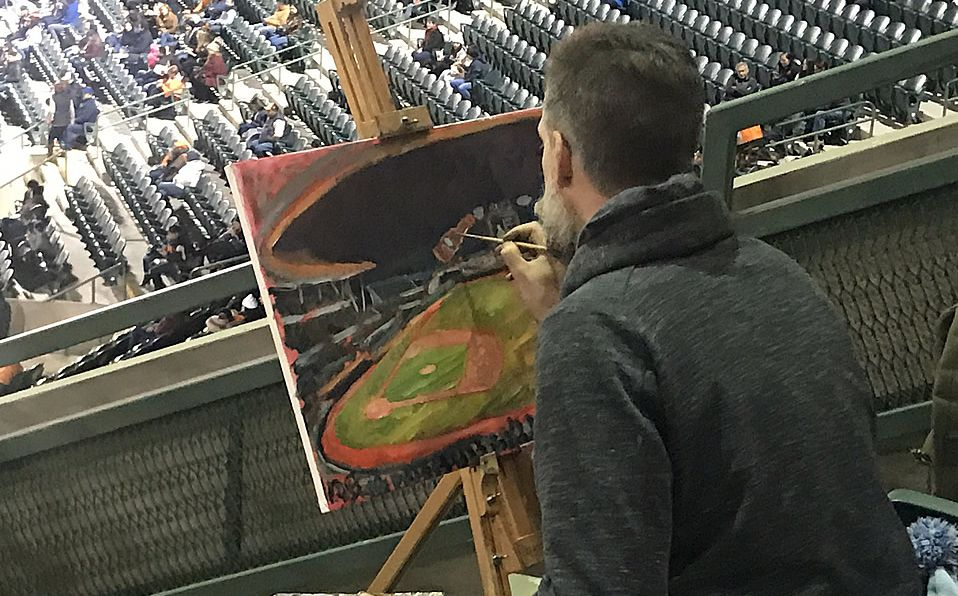 El mago de la pintura ahora en la LMP