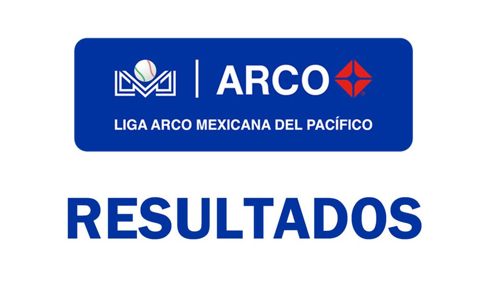 Resultados en la Liga Mexicana del Pacífico (LMP)