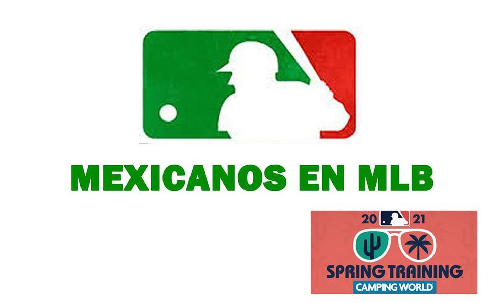 MLB: La actuación de los peloteros mexicanos en Spring Training