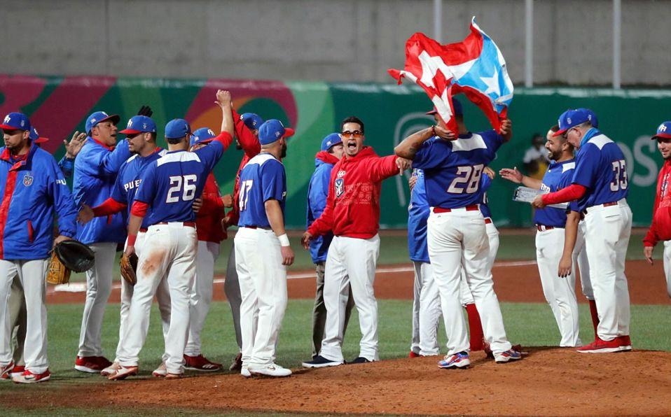 Puerto Rico se proclamó campeón en el beisbol de Lima 2019. (Foto: @FEBeisbol)