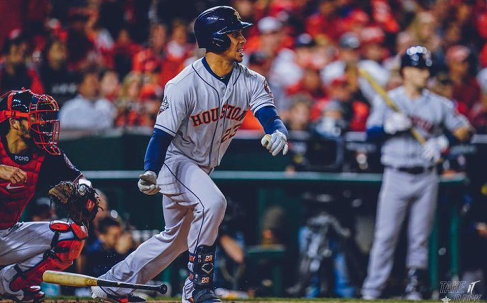 Astros gana el Juego 3 de la Serie Mundial