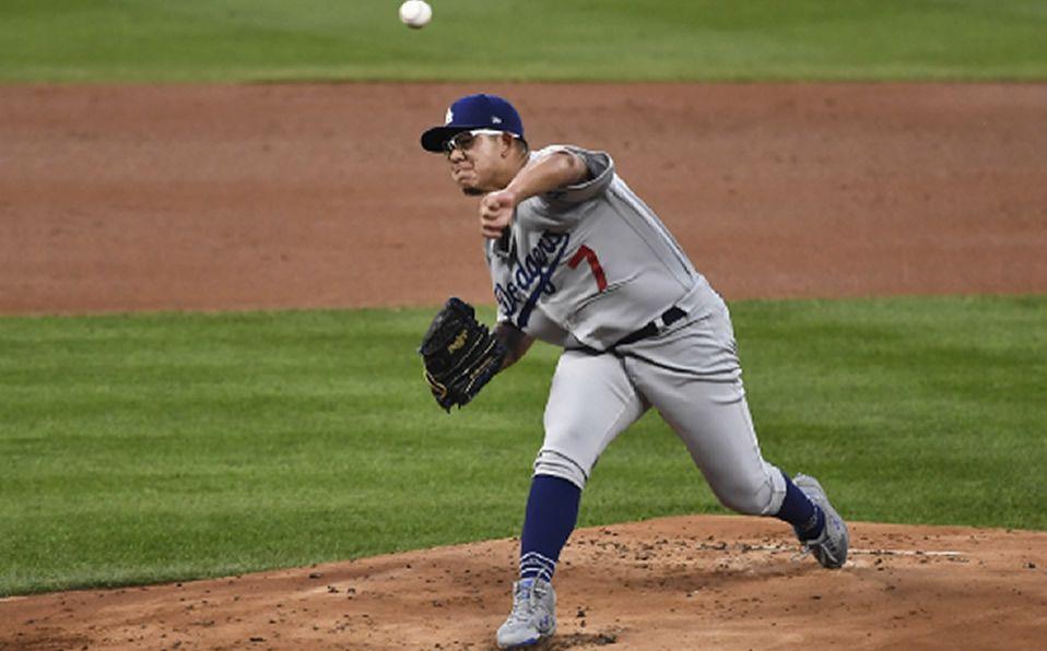 Dodgers gana, Julio Urías sale sin decisión