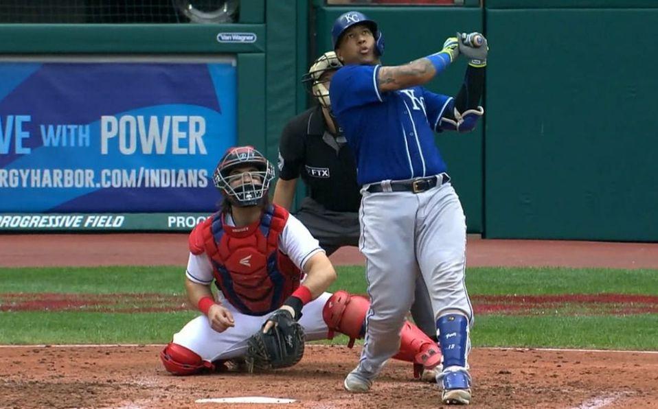 Salvador Pérez está teniendo su mejor temporada en home runs. (MLB.com)