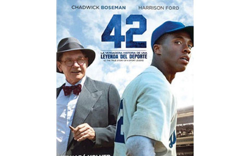 La magia de '42', la película de Jackie Robinson. Foto: Especial