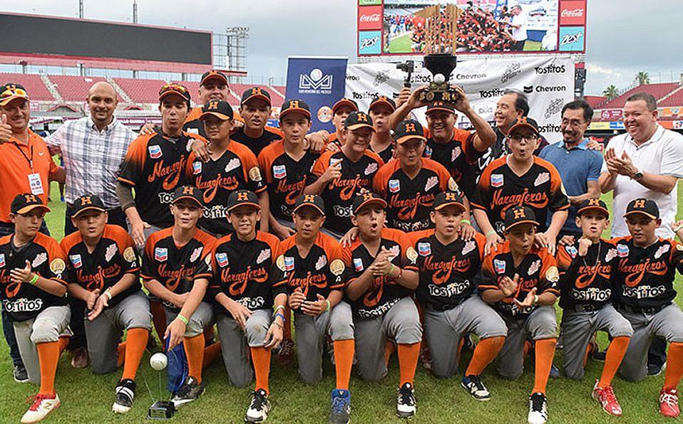 Naranjeritos de Hermosillo gana Primer Campeonato Infantil LMP