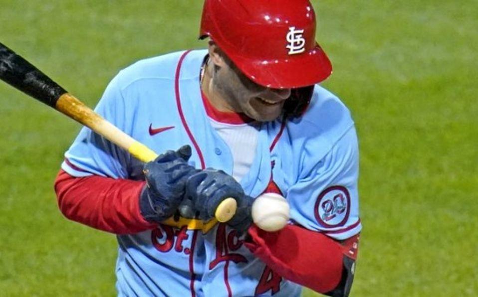 Molina ya había sufrido un golpe en la misma área días atrás. (Foto: MLB.com)