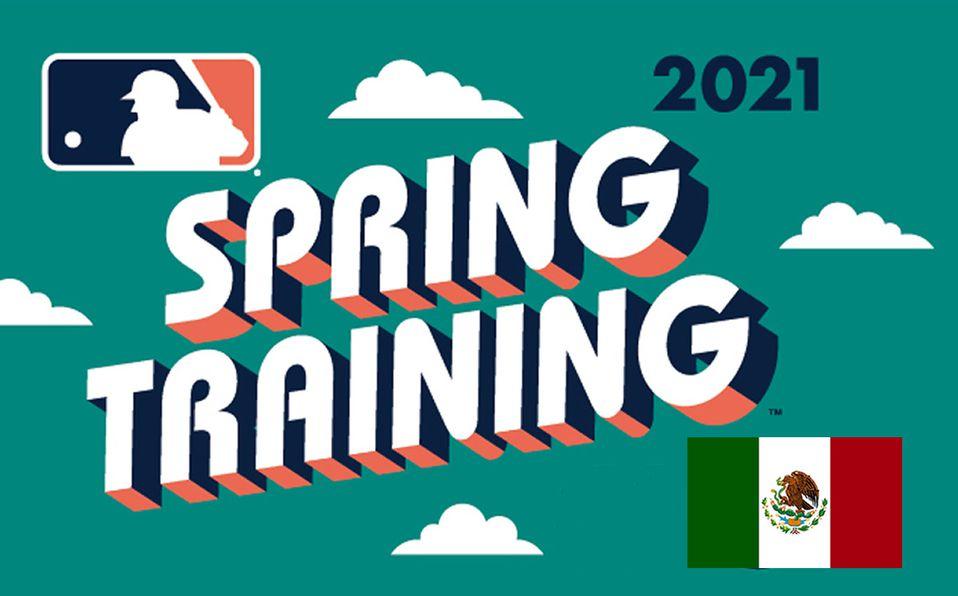 MLB: Contingente mexicano para el Spring Training 2021