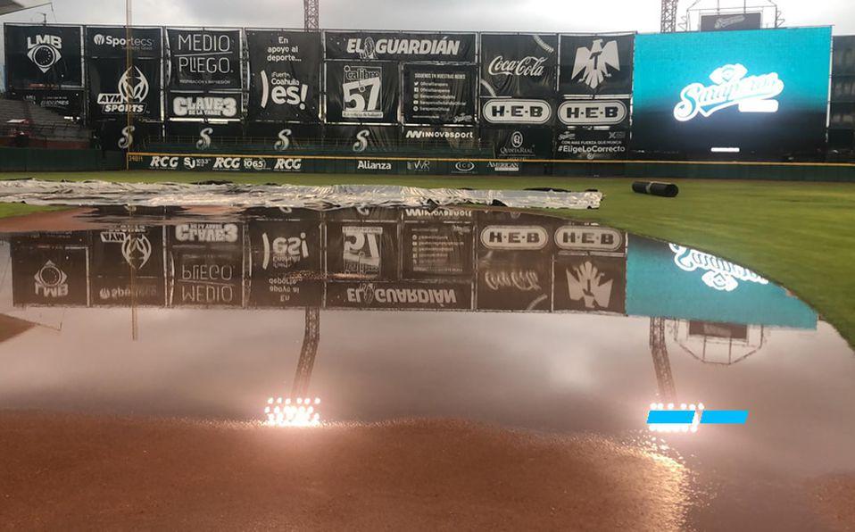 Playoffs LMB: Lluvia pospone juego entre Saltillo y Tijuana