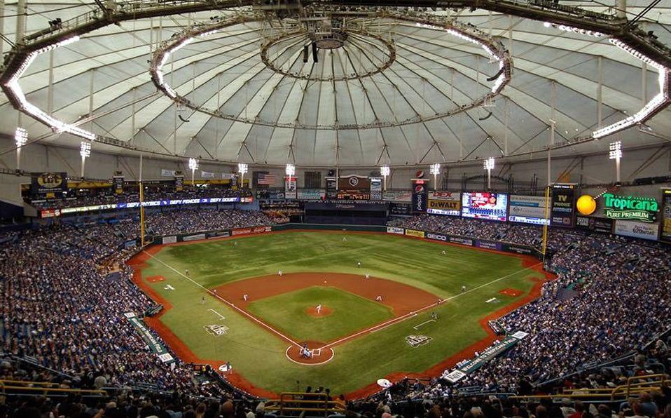 En 2019, el Tropicana Field, casa de los Rays, cuenta con la segunda peor asistencia en MLB.