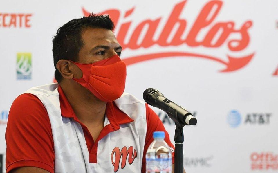 Miguel Ojeda sustituyó a Sergio Gastélum en el mando de Diablos para 2021. (Diablos)
