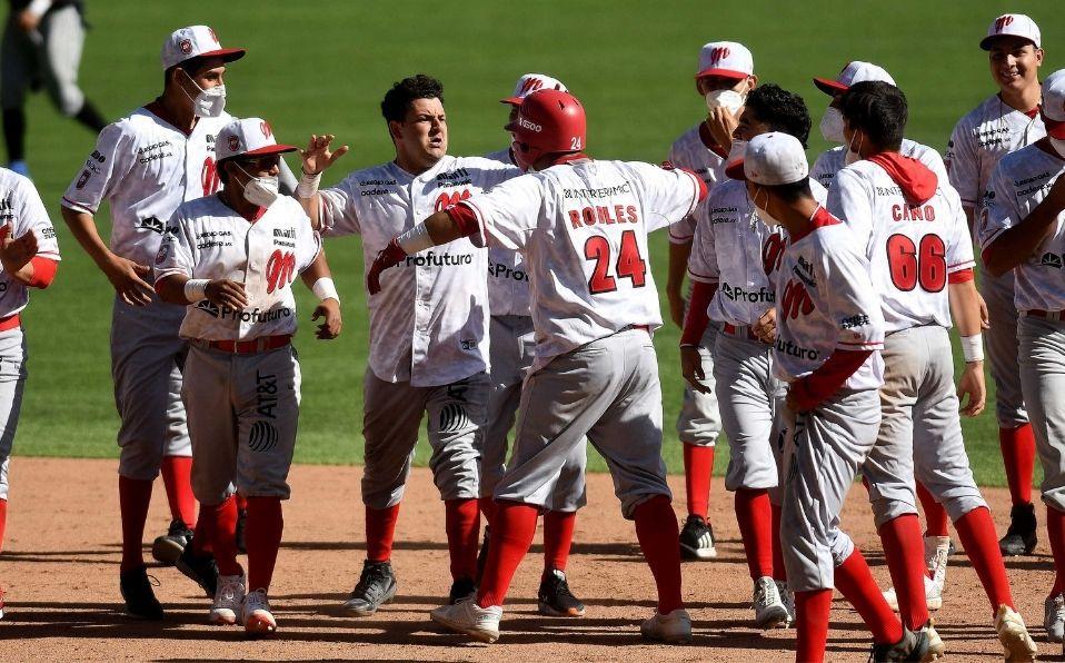Los 'traviesos' dejaron en el terreno al equipo de los 'zurdos'. (Foto: Enrique Gutiérrez/Diablos Rojos)