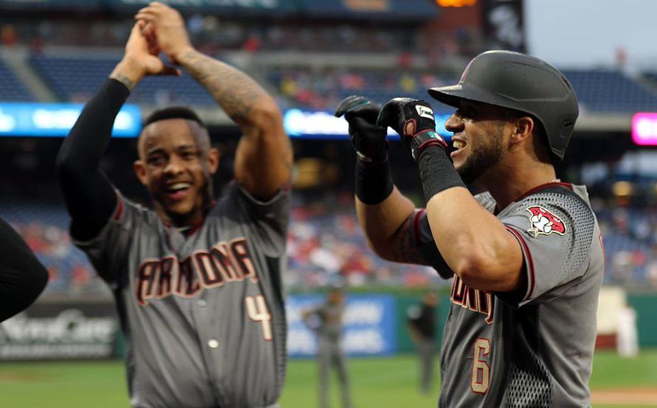 Arizona y Phillies implantan récord de jonrones en un juego