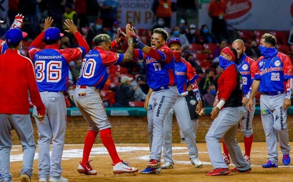 El equipo dominicano se mantiene invicto en la Serie del Caribe 2021. (Foto: Cortesía)