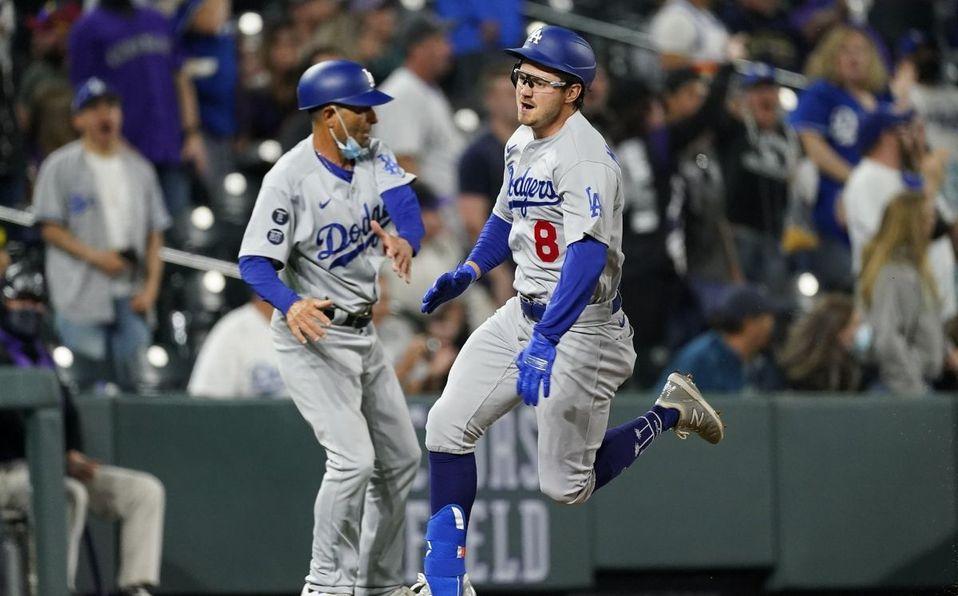 Zach McKinstry pegó el primer home run de su carrera en la MLB. (Foto: AP)