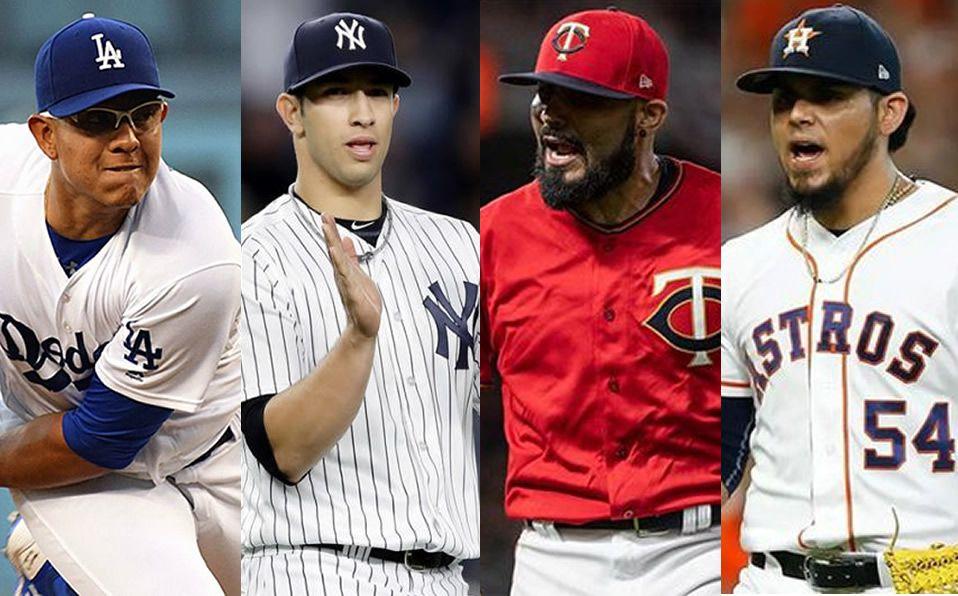 Los mexicanos que jugarían en los playoffs en MLB en 2019