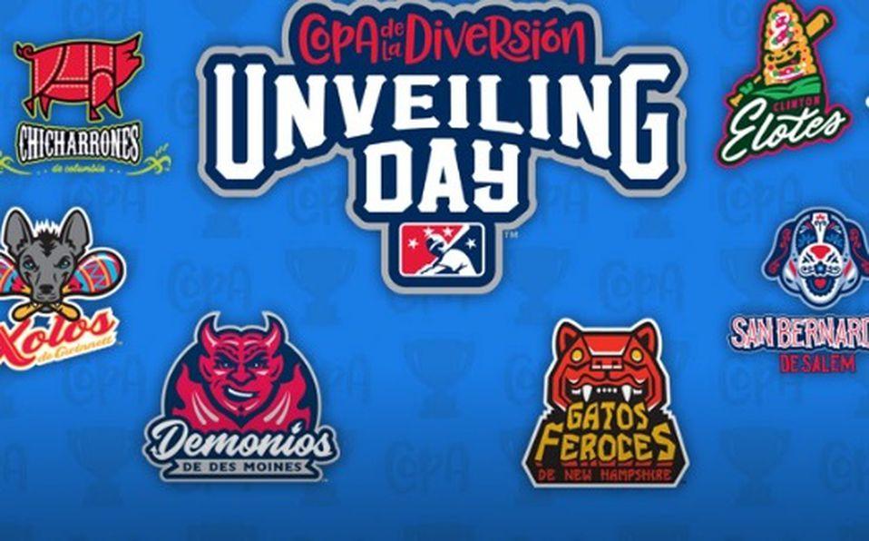 Algunos de los logos alternativos de los equipos de Ligas Menores que participan en la Copa Diversión. Foto: Especial