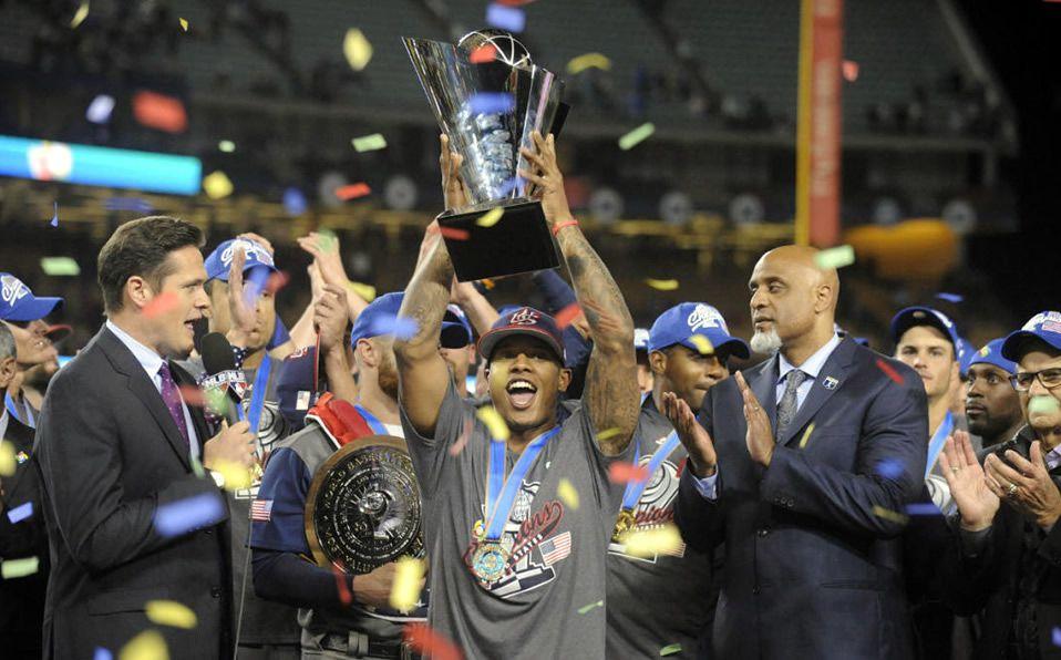 Stroman y EEUU levantaron el campeonato en 2017. (Foto: @CBSSportsMLB)