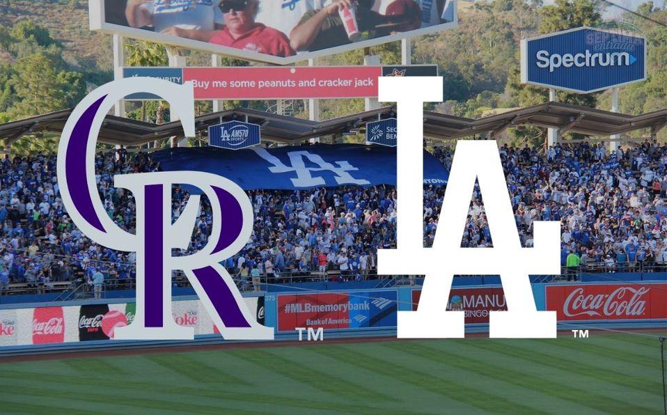 Dodgers y Rockies se enfrentan por segunda vez en la temporada de MLB 2021. (Foto: Especial)