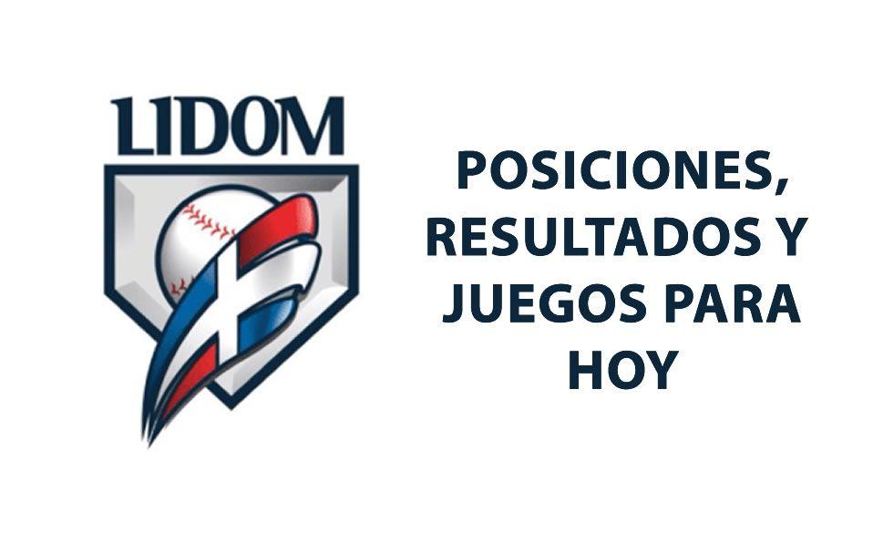 Posiciones y juegos para hoy de la Liga Dominicana en la Temporada 2020-2021