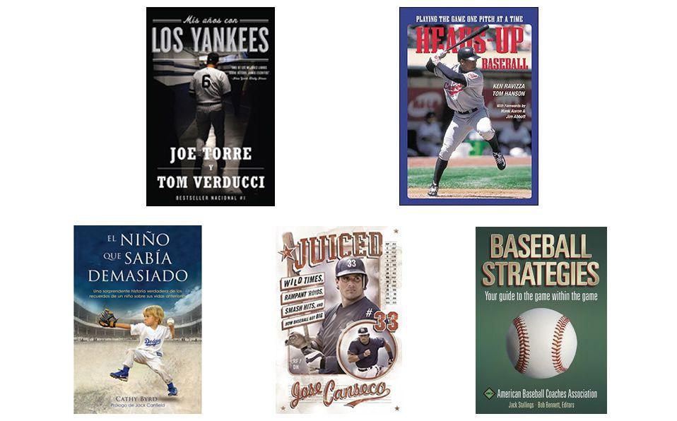 RECOMENDACIÓN: 5 libros de beisbol que amarás