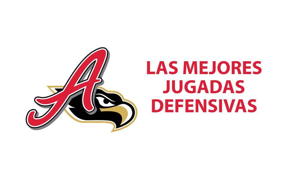 ¡CÓMO LUCEN! Las 5 mejores jugadas defensivas del Águila de Veracruz