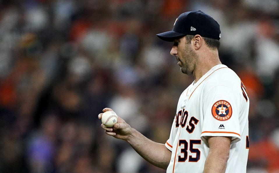 Verlander sólo pudo hacer la apertura del Día Inaugural con Astros. (Foto: AP)