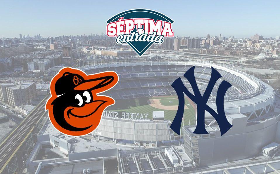 MLB TV En Vivo: Orioles vs Yankees donde ver