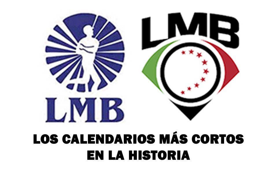 ¿Cuáles han sido las temporadas más cortas en la LMB?