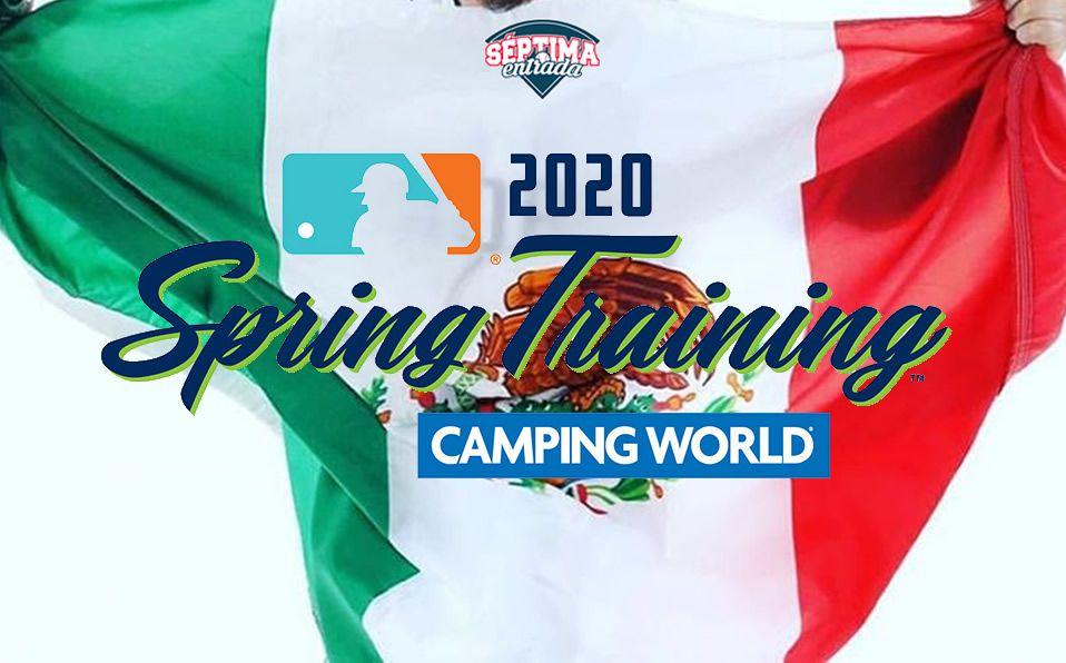 La representación mexicana este 2020 consta de casi 30 peloteros.