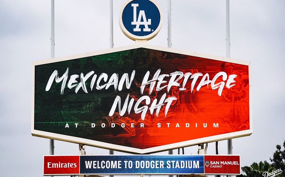 Los Dodgers tuvieron una noche especial dedicada a la cultura mexicana (Foto: @Dodgers)