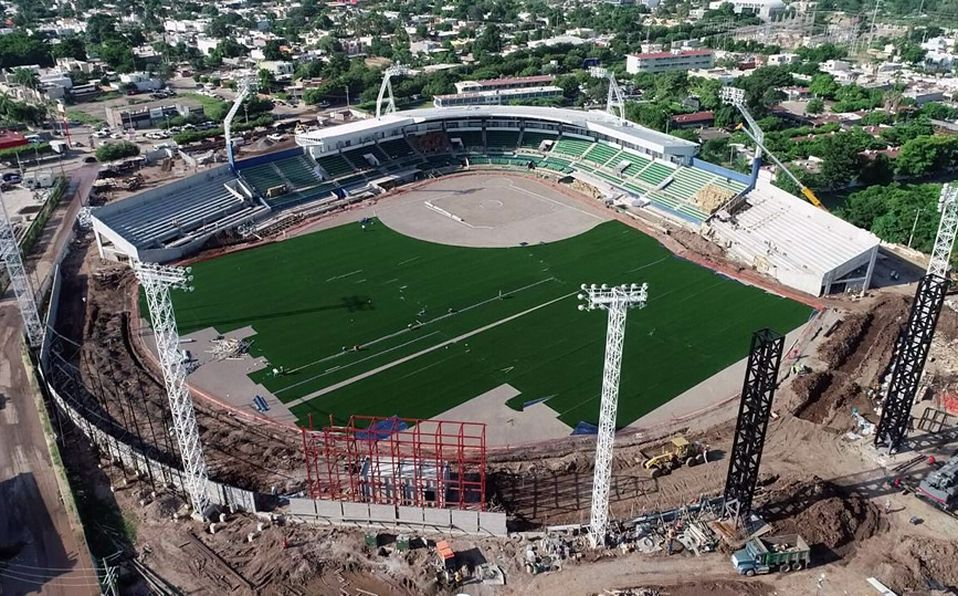 Remodelación Estadio Carranza Limón en Los Mochis