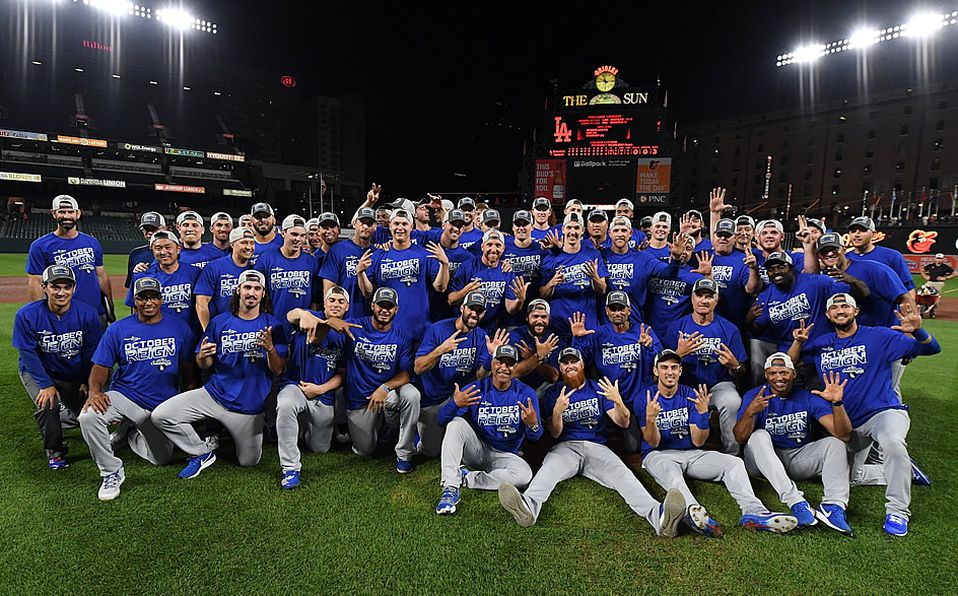 Dodgers está en playoffs, gana título divisional