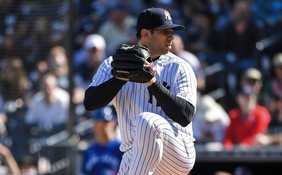 Luis Cessa estaba en la mira para ser abridor con Yankees