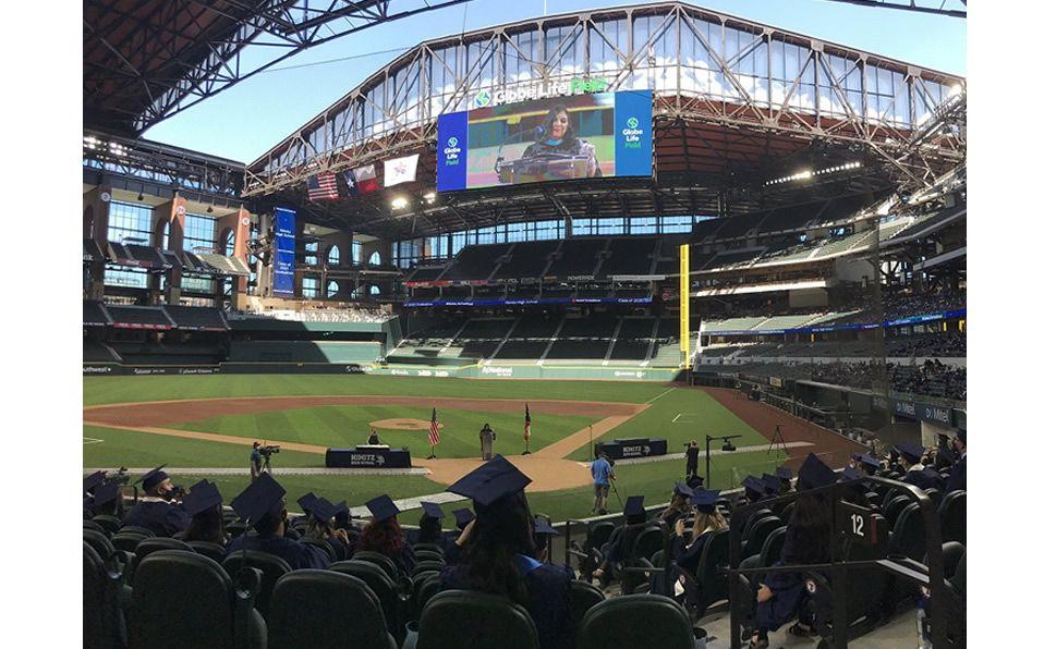 La casa de Rangers ya se estrenó... y no fue con beisbol. Foto: Texas Rangers