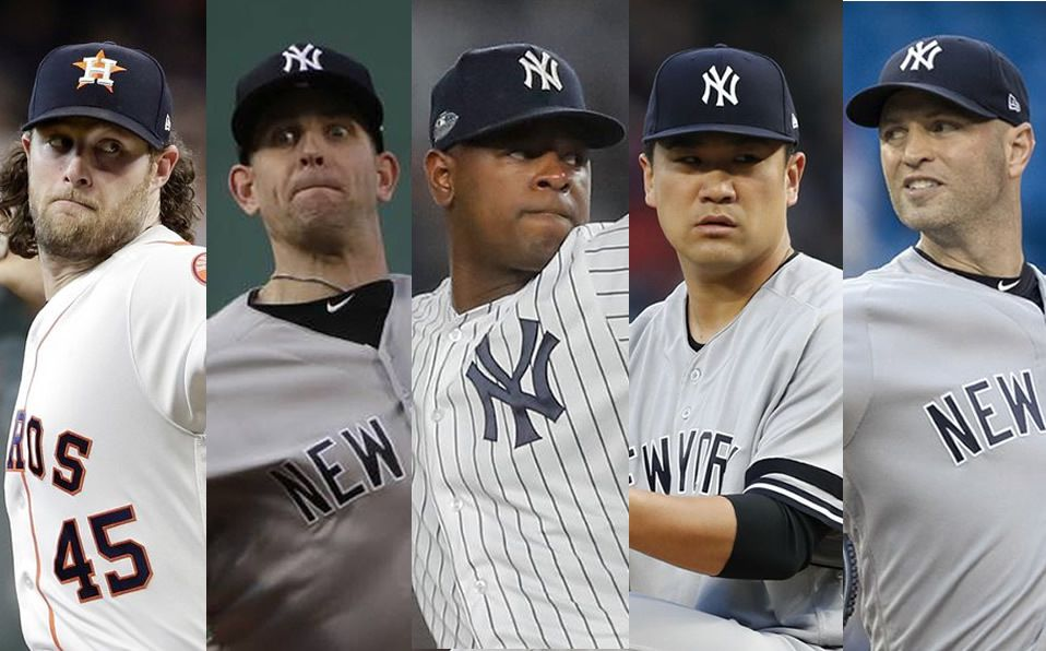 Esta sería la poderosa rotación de los Yankees