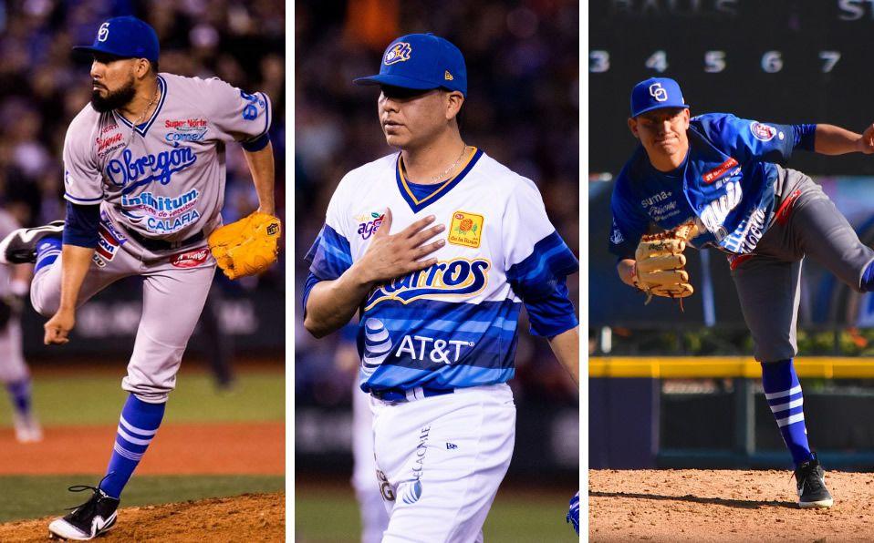López, Acosta y Anguamea tienen 14 triunfos combinados en la temporada. (Foto: Especial)