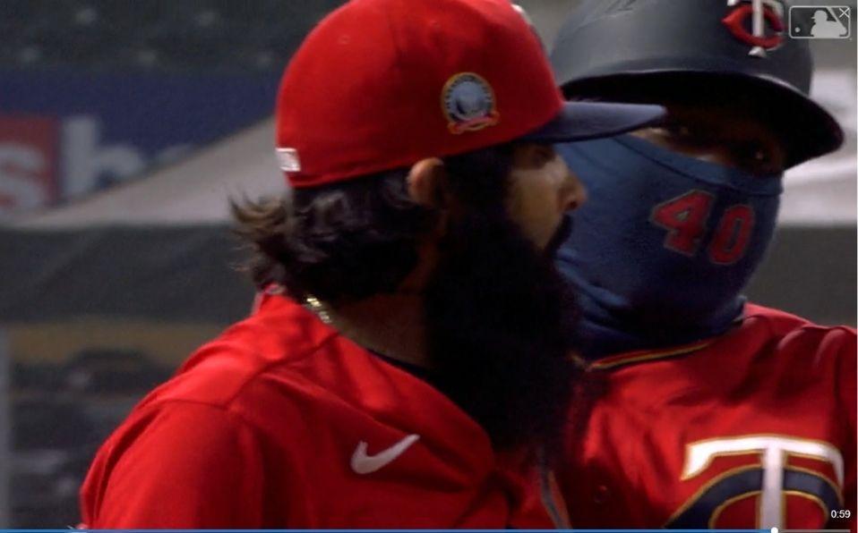 El incidente no pasó a mayores. (Foto: Captura de pantalla, MLB.com)