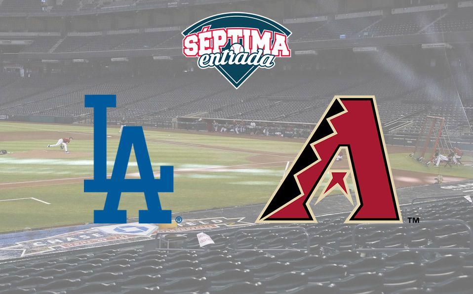 MLB: En Vivo Dodgers vs DBacks, television