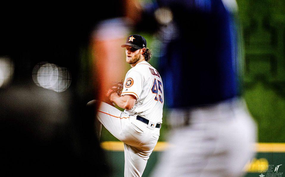 Cole se convirtió en el tercer pitcher en la historia de MLB con más ponches en un juego. (Foto: @astros)