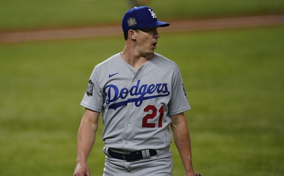 Buehler ganó sus últimos dos juegos en el camino de Dodgers al campeonato de la MLB. (Foto: AP)