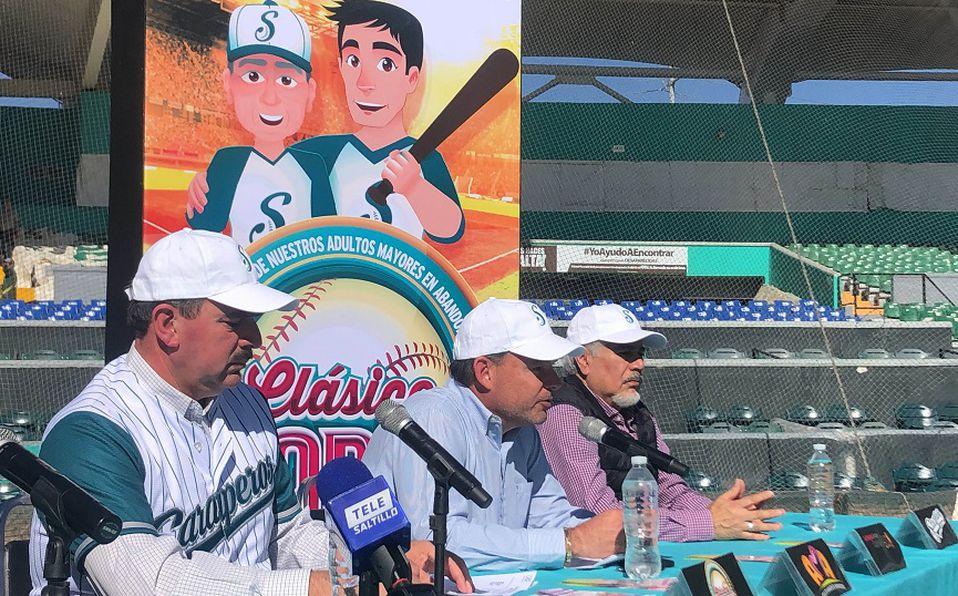 Presentación del Clásico del Norte entre Saraperos de Saltillo y Sultanes de Monterrey de la Liga Mexicana de Beisbol. Foto: Saraperos