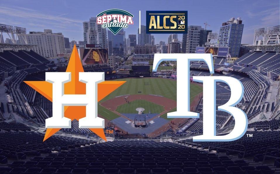 Rays y Astros se enfrentan por segundo año en la postemporada de las Grandes Ligas.