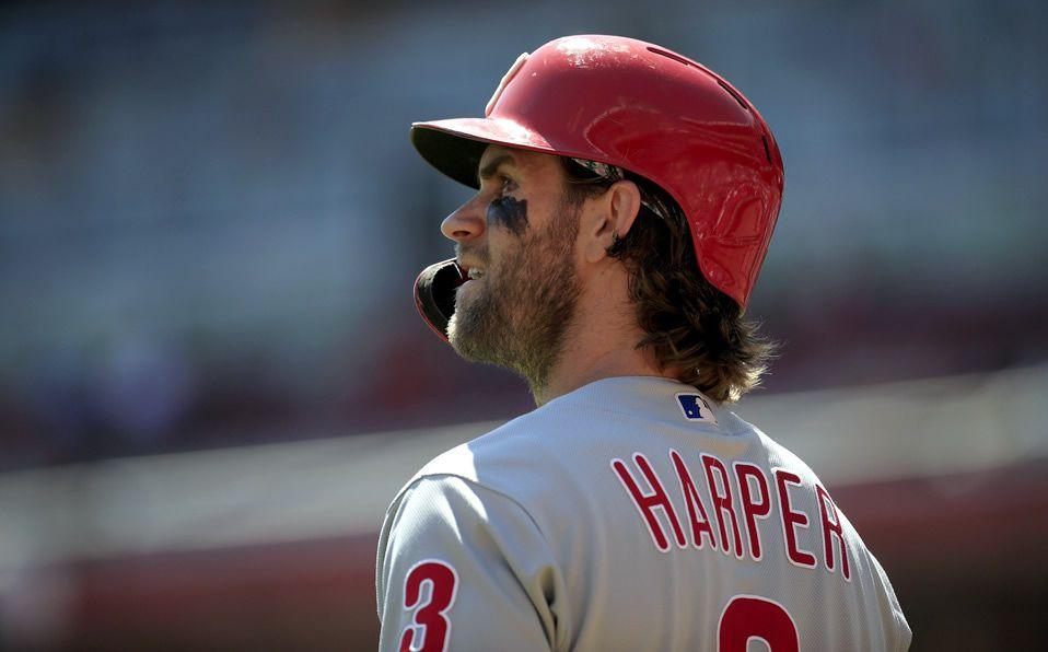 En su primer año fuera de Washington, los Nationals llegaron a la Serie Mundial sin Harper. (Foto: @MLByahoosports)